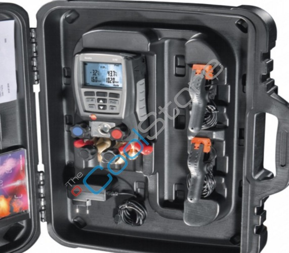 Electrical Wire Gauge Measuring Tool Digital Manifold: Digital Manifold -testo 570-2 Set