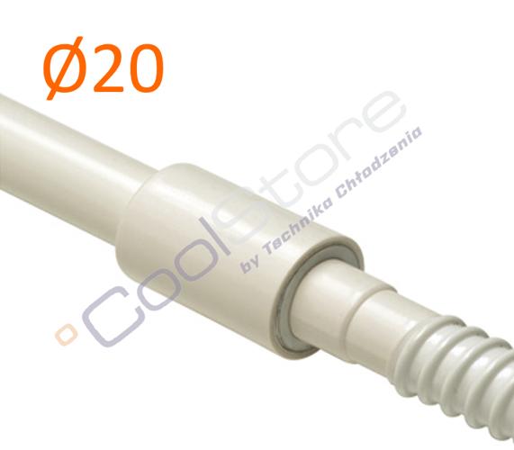 Rigid flexible connector pvc air conditioning