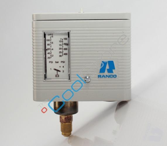 Single Pressure Switch Ranco 016 H 6750 Wc A