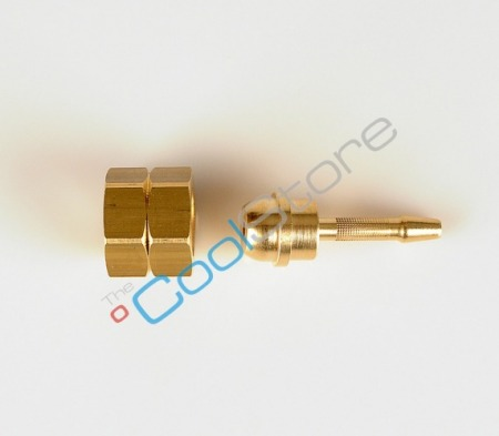 Hose nipple with cap nut propane 380/I/T4